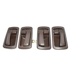 Brown Inside Interior Door Handles Set 4pcs for 1992-96 Toyota Camry 6920532070