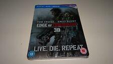 Edge Of Tomorrow 3D & 2D & UV Ltd Edition Steelbook 2 Discs Sealed