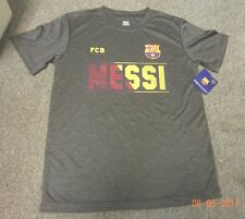 FCB BARCELONA -Lionel Messi T-SHIRT- Jersey young XL size, new