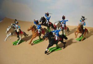Britains Deetail French Cavalry  Napoleonic Era #7959  1972 (6) Waterloo Hussars