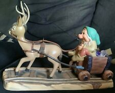 WDCC Sleepy with Deer Drawn Cart - Disney Classics Collection Snow White Retired
