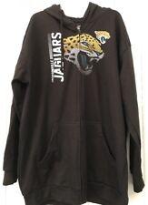 Majestic NFL Jacksonville Jaguars Full Zip Sweatshirt 2XT Big &Tall Team Apparel