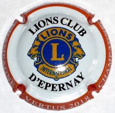 LIONS CLUB EPERNAY New  !! Capsule de Champagne 60 ans  !!!!