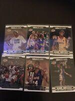 Panini NBA Hoops Career Tributes Kobe Bryant Base Lot X6 Lakers