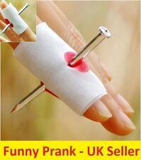 10x nail par doigt bandage faux sanglante nouveauté déguisement halloween party
