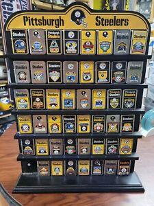 CHOICE LOT Pittsburgh Steelers Danbury Mint superbowl/Championship lighters Rare