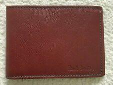 Paul Smith Men Red Saffiono Travel wallet