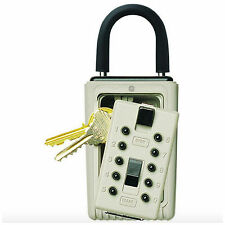 Portable Combination Door Key Safe Lock Box Hide Keys Storage Holder Padlock New