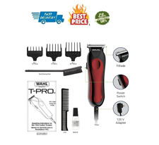 Wahl Hair Clippers Beard Mustache Professional Trimmer Barber Shaver T-Pro Liner