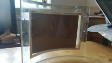 Modern Curved Glass Picture Photo Frame 6 x 8""