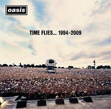 TIME FLIES OASIS 1994-2009 Double Original Audio Music CD Hits Tracks New Sealed