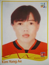 Panini 213 Kim Yong Ae Korea DPR FIFA Women's WM 2011 Germany