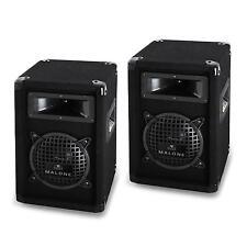 COPPIA CASSE ACUSTICHE ALTOPARLANTI DIFFUSORI 16,5 500W IMPIANTO AUDIO DJ PA