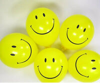 "12"" Smile Face Balloons Parties Emoji All Occasions Decoration Birthday baloons"