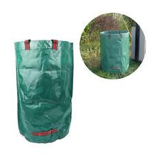 120L Reusable Heavy Duty Garden Waste Bag Rubbish Grass Refuge Sacks Green Color