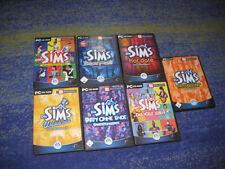Die SIMS 1 Basisspiel + alle Erweiterungen und Hauptspiel Sammlung PC Sims