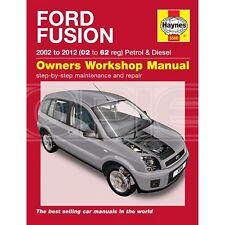 Haynes Ford FUSION BENZINA & DIESEL 2002 - 2012-MANUALE PER AUTO (5566D)