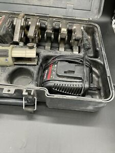 Viega Pressgun 4B Pressmaschine Presse Pressgerät mit Koffer Akku und Ladegerät