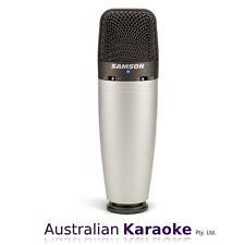 NEW Samson C03 Multi-Pattern Studio Condenser Microphone