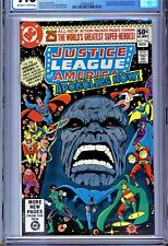 1)CGC 9.8-JUSTICE LEAGUE OF AMERICA #184(11/80)JUSTICE SOCIETY/NEW GODS/DARKSEID