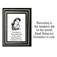 Parenting Is Tough Rubber Stamp RWD-169 Riley & Company Cling Stamps Words