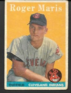 1958 Topps  #47  Roger Maris Rookie Card