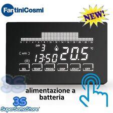 3S NUOVO CH191 Crontermostato a batteria touch screen settimanale FANTINI COSMI