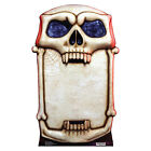 SKULL SIGNBOARD Party Register CARDBOARD CUTOUT Standup Standee Scary Halloween