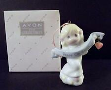 """1998 Precious Moments """"Peace On Earth"""" Angel Hanging Ornament w/Box & Packaging"""