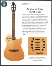 The 1987 Godin Multiac Steel Duet + Dopyera DM33 Hawaiian guitar 6 x 8 article