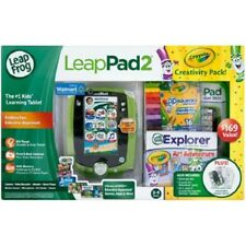 Leapfrog Leappad2 Crayola Creativity Pack Bundle with LeapPad2 Green Tablet NEW