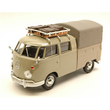 Vw Type 2 (t1) 1965 Pick Up Closed with Roof Rack Beige 1 24 Motormax Auto Strad