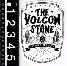 VOLCOM STONE MADE LG STICKER 4 in. x 5.5 in. Large Volcom Skate Surf Decal