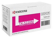1x ORIGINAL TONER Kyocera Mita ECOSYS TK-5220m M5521cdn M5521cdw P5021 cdn cdw