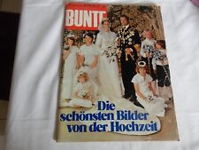 Alte Zeitschrift, Bunte vom 23.06.76