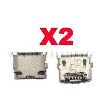 """2X LG G-SLATE V909 V900 Tablet 8.9"""" USB Charger Charging Port Dock Connector"""