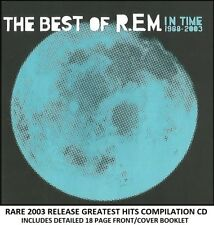 R.E.M - The Very Best Greatest Hits Collection - RARE 2003 80's 90's Rock Pop CD