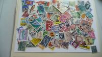 2167          lot 100 timbres seconds plusieurs pays
