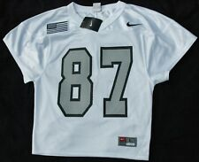 Rare Dave Casper jersey! Oakland Raiders YOUTH large NWT Raider Nation patch!