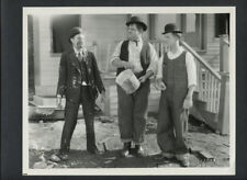LAUREL & HARDY PHOTO - 1928 THE FINISHING TOUCH - SILENT SHORT - 1960s REPRINT