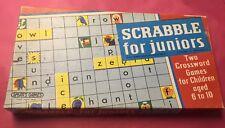 Vintage 1980s Scrabble for Juniors Game Spears Complete Original Box VGC