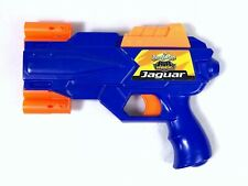 Buzz Bee Toys AIR WARRIORS Jaguar Soft Dart Gun with Moving 6 Dart Magazine