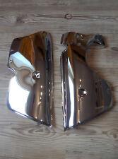 Kreidler Florett K54 RS RM RMC Motor Verkleidungssatz Li + Re Chrom 5 gang