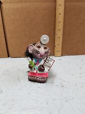 """Vintage 1972 Hong Kong Berries """"Get Well Soon"""" Dr Troll Bobblehead Figurine"""