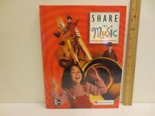 Share the Music Grade 2 Student Edition Macmillan/McGraw-Hill Red