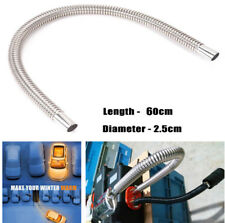 1x60mm Exhaust Pipe Gas Vent For Car Truck Bus Air Diesel Heater Stainless Steel
