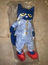 MerryMakers Pete the Cat Bedtime Blues Plush Doll Stuffed Animal Toy