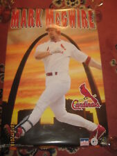 """MARK McGWIRE St Louis Cardinals POSTER """"1998"""" NEW 22"""" X 33""""s"""