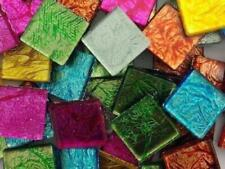Mixed Silverfoil Glass Tiles - 2 cm - Mosaic Tile Supplies Art Craft