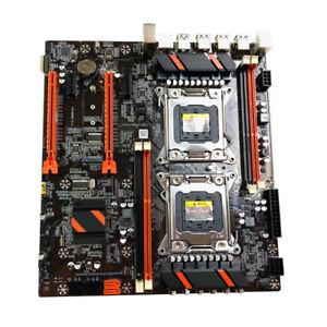 X79 Dual CPU PC Motherboard LGA 2011 DDR3 SATA PCIE X16 PUBG Gaming Mainboard